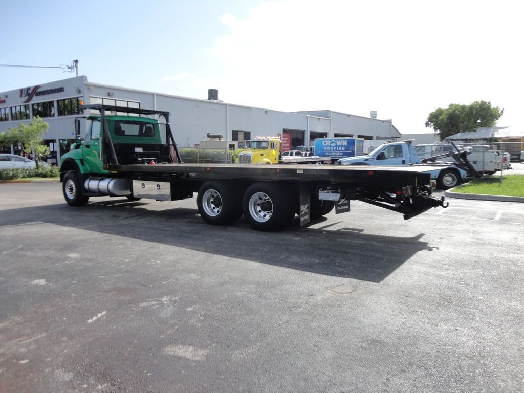 2013 International 7500 28FT 15 TON ROLLBACK INDUSTRIAL JERRDAN.. TANDEM AXLE.. - 17944542 - 7
