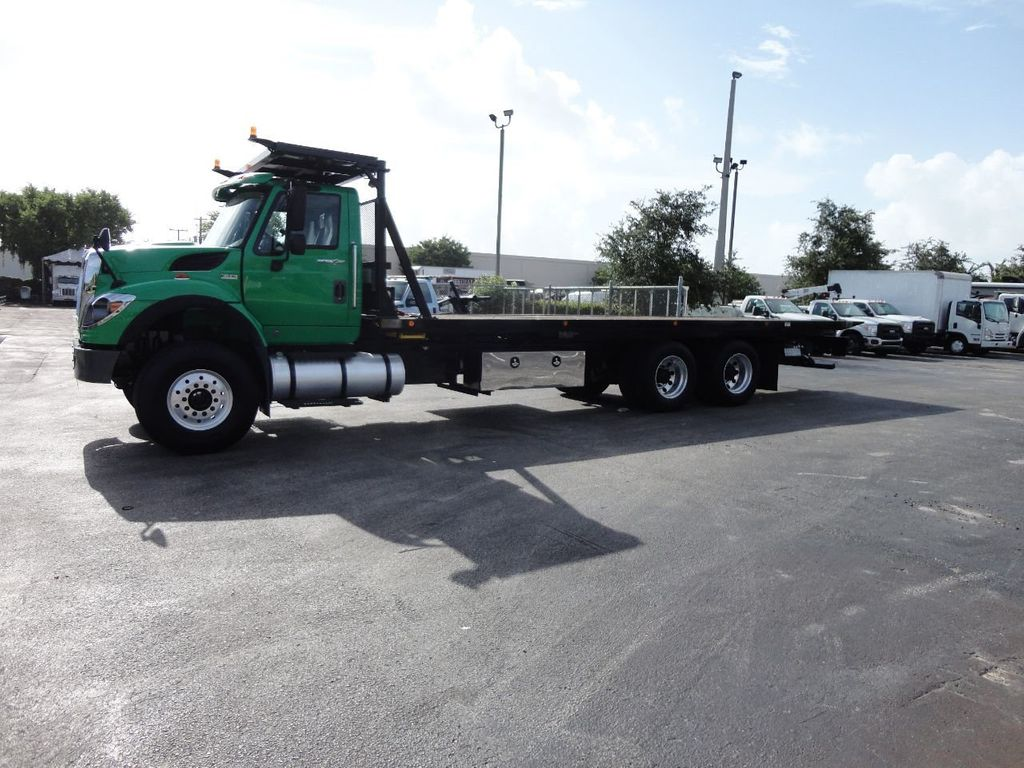 2013 International 7500 28FT 15 TON ROLLBACK INDUSTRIAL JERRDAN.. TANDEM AXLE.. - 17944542 - 8