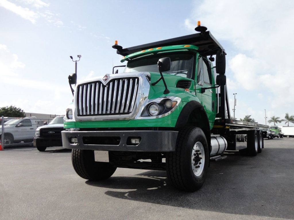 2013 International 7500 28FT 15 TON ROLLBACK INDUSTRIAL JERRDAN.. TANDEM AXLE.. - 17944543 - 0