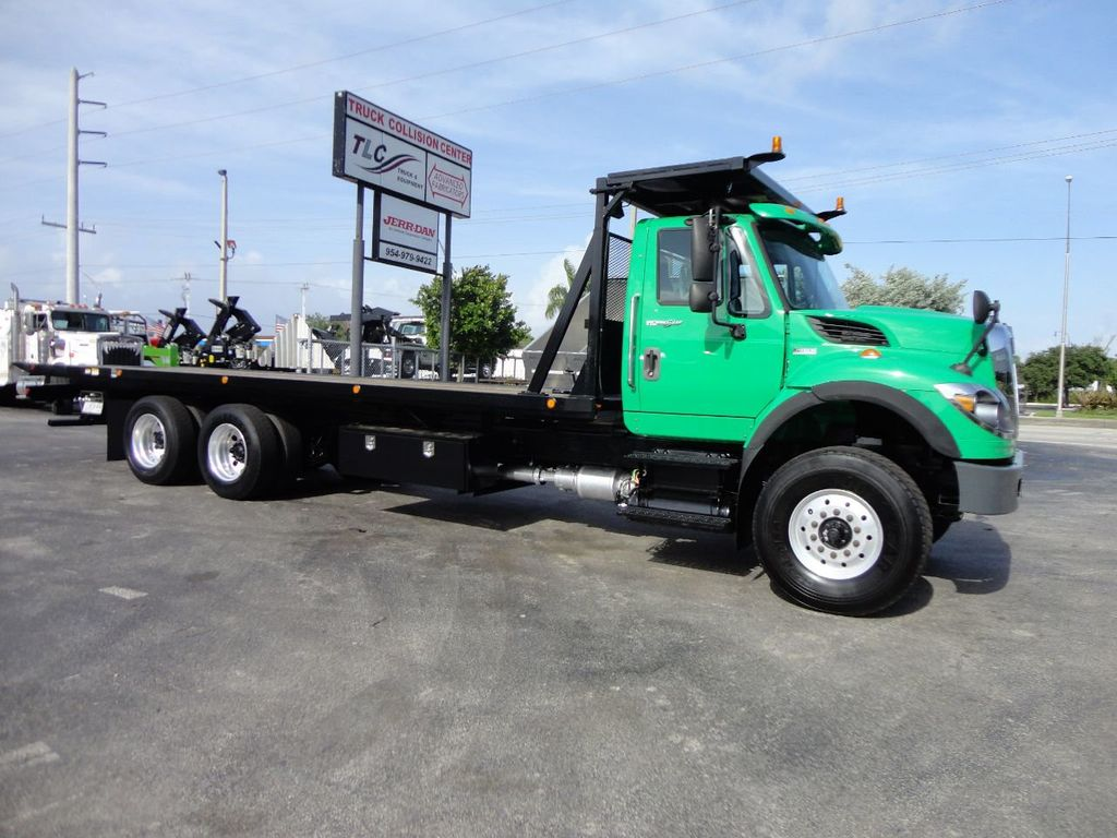 2013 International 7500 28FT 15 TON ROLLBACK INDUSTRIAL JERRDAN.. TANDEM AXLE.. - 17944543 - 2