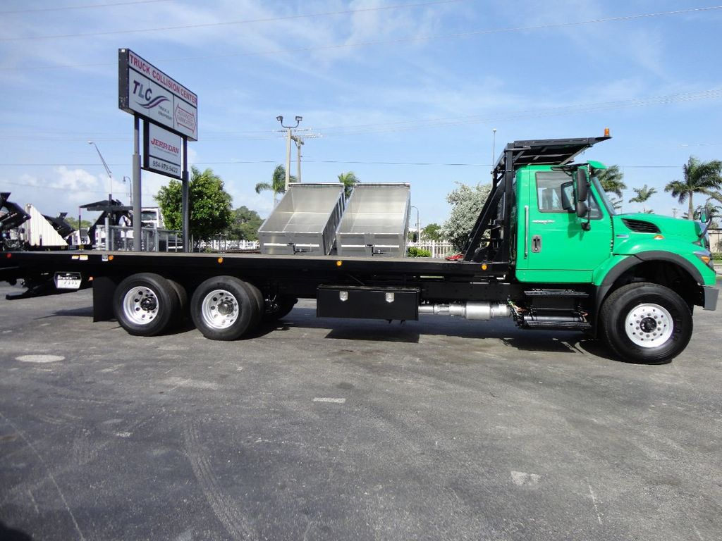 2013 International 7500 28FT 15 TON ROLLBACK INDUSTRIAL JERRDAN.. TANDEM AXLE.. - 17944543 - 3