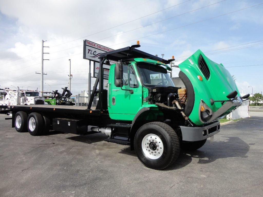 2013 International 7500 28FT 15 TON ROLLBACK INDUSTRIAL JERRDAN.. TANDEM AXLE.. - 17944543 - 41