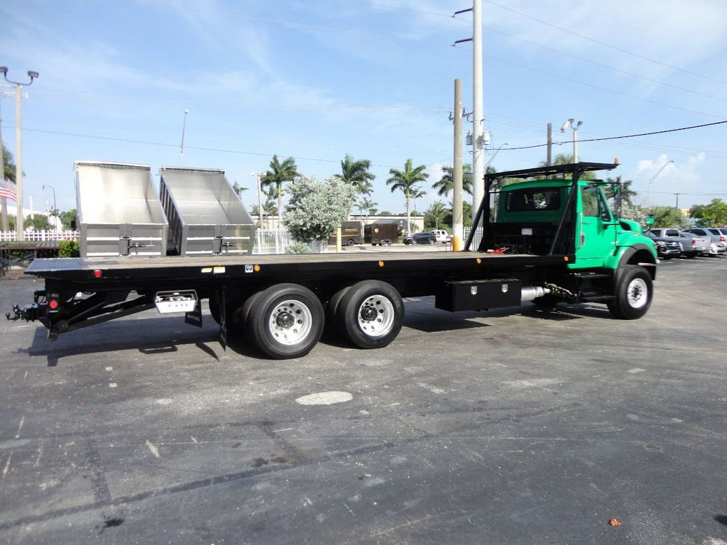 2013 International 7500 28FT 15 TON ROLLBACK INDUSTRIAL JERRDAN.. TANDEM AXLE.. - 17944543 - 4