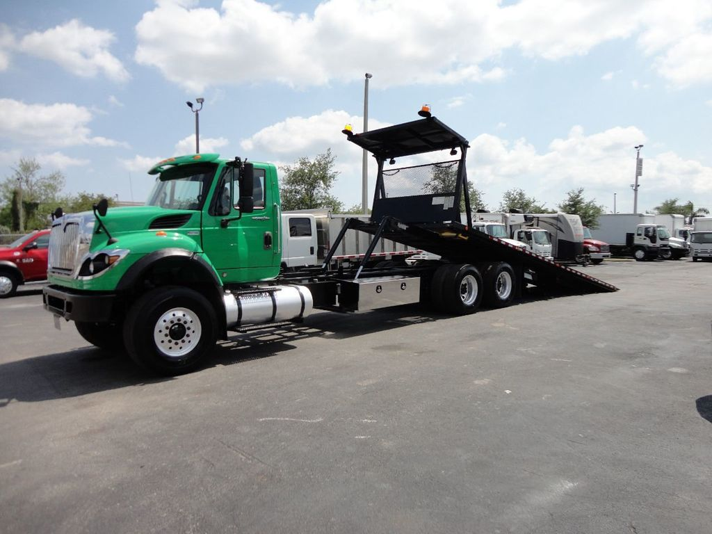 2013 International 7500 TANDEM AXLE.. JERR-DAN 28FT INDUSTRIAL 15 TON ROLLBACK - 17457781 - 0
