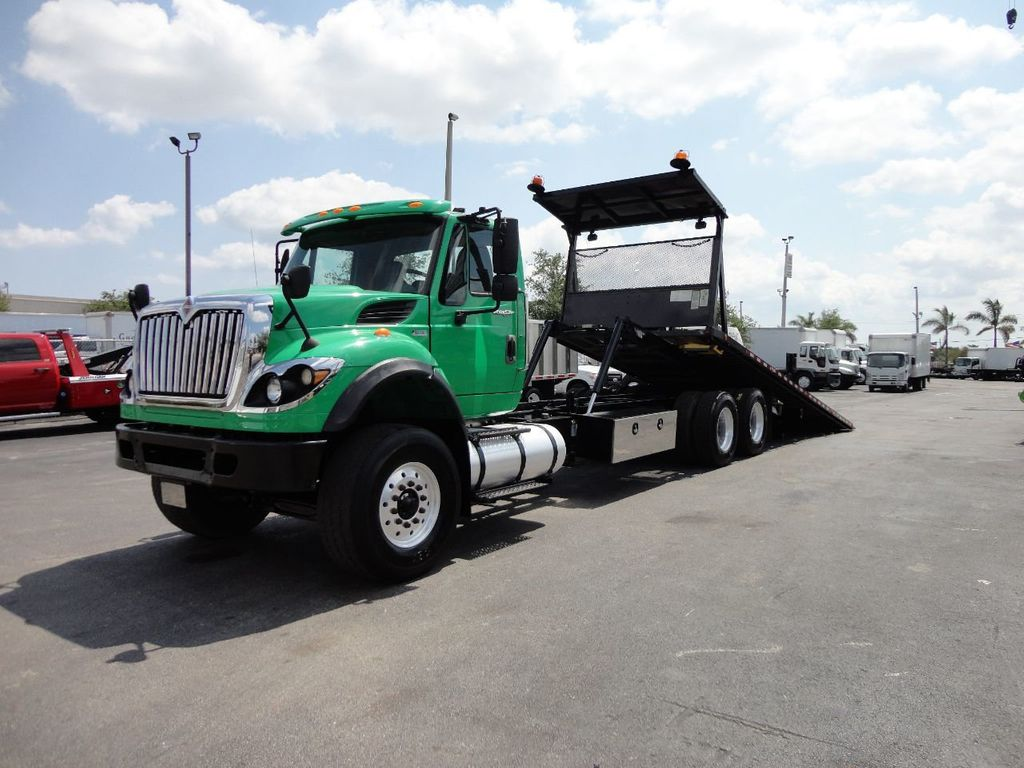 2013 International 7500 TANDEM AXLE.. JERR-DAN 28FT INDUSTRIAL 15 TON ROLLBACK - 17457781 - 1