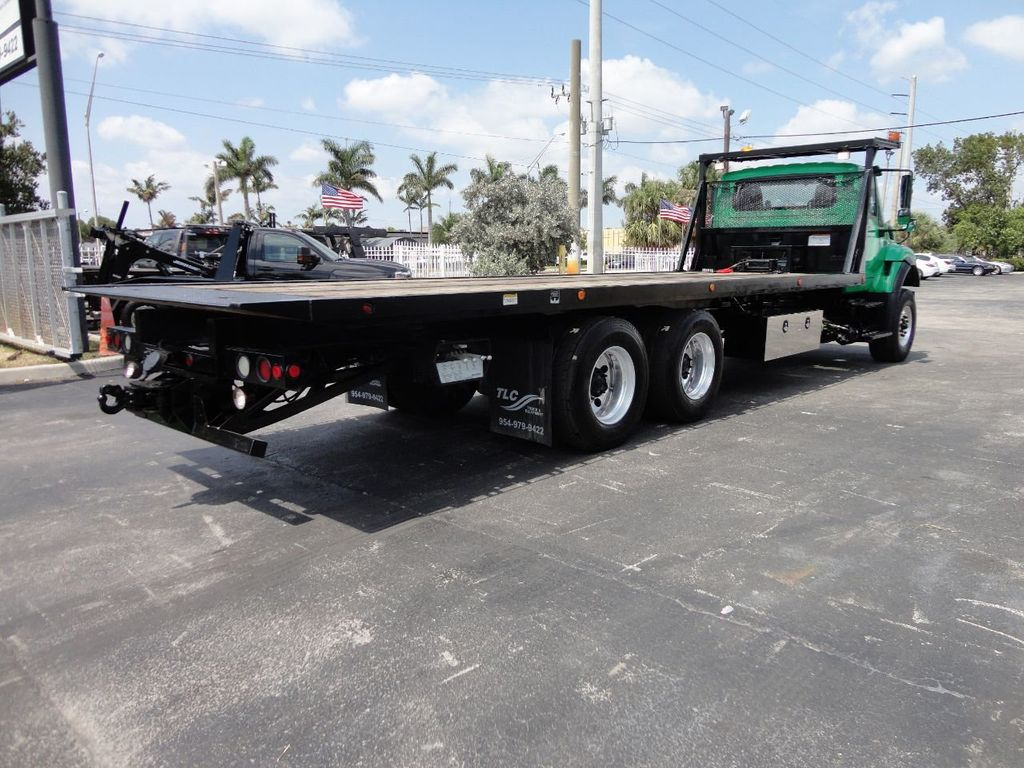 2013 International 7500 TANDEM AXLE.. JERR-DAN 28FT INDUSTRIAL 15 TON ROLLBACK - 17457781 - 29