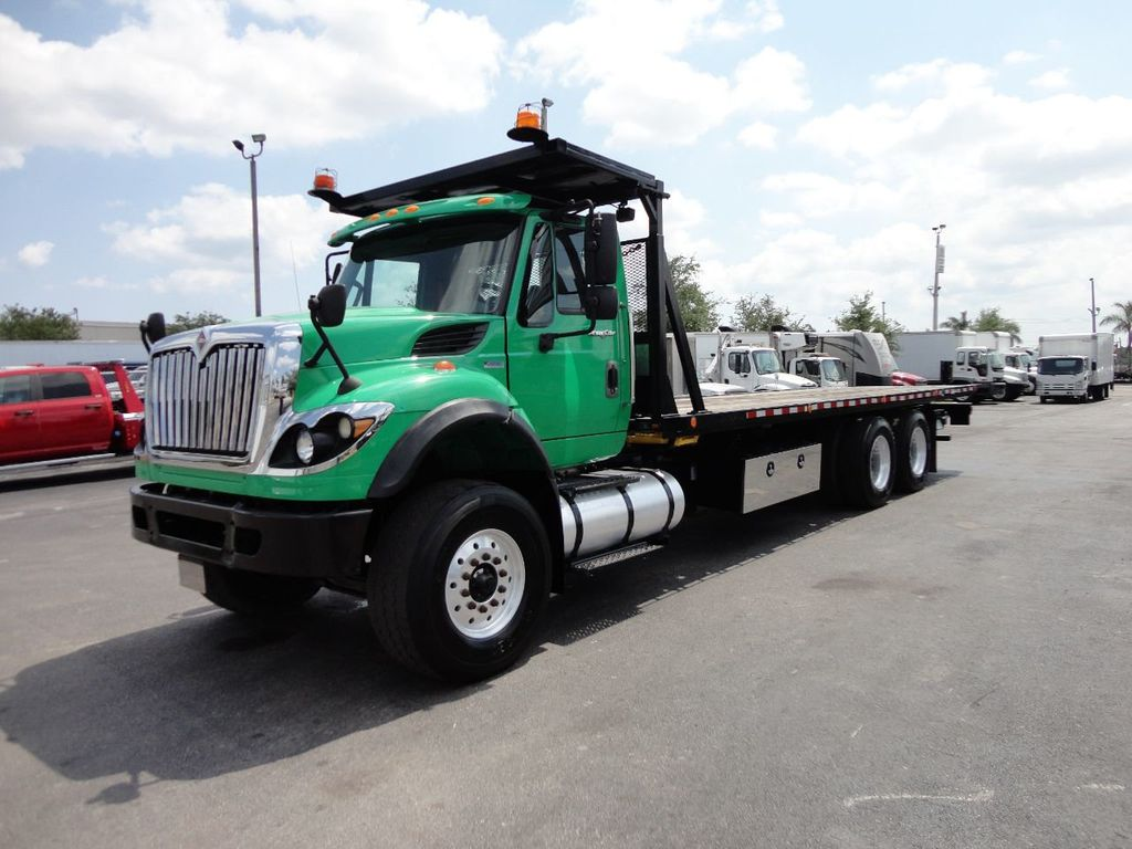 2013 International 7500 TANDEM AXLE.. JERR-DAN 28FT INDUSTRIAL 15 TON ROLLBACK - 17457781 - 33