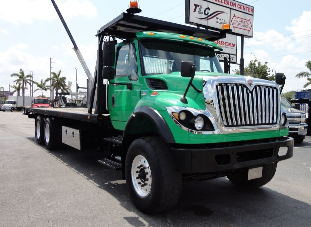 2013 International 7500 TANDEM AXLE.. JERR-DAN 28FT INDUSTRIAL 15 TON ROLLBACK - 17457781 - 34
