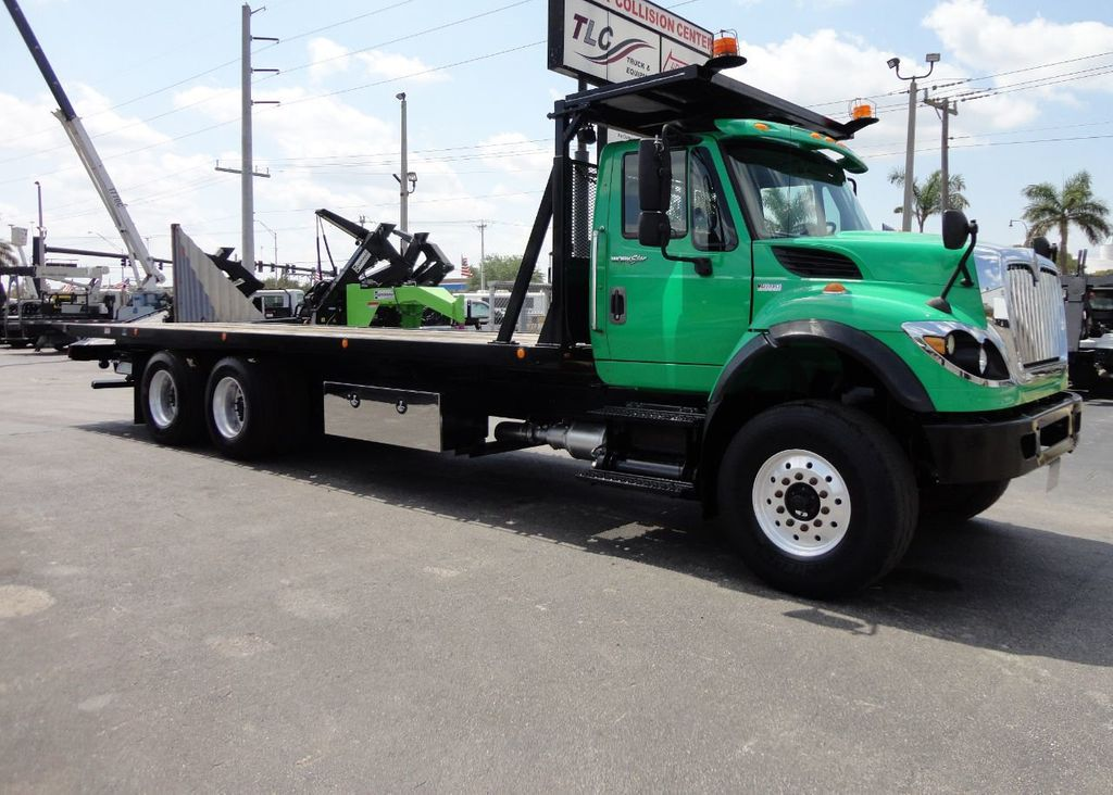 2013 International 7500 TANDEM AXLE.. JERR-DAN 28FT INDUSTRIAL 15 TON ROLLBACK - 17457781 - 35