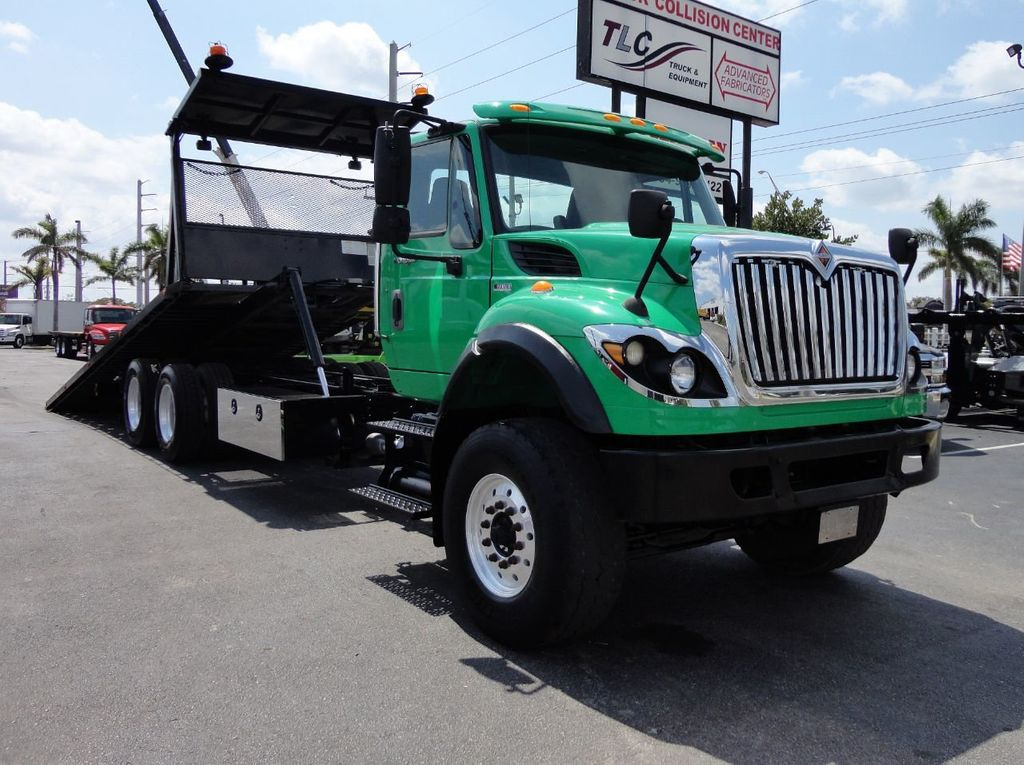 2013 International 7500 TANDEM AXLE.. JERR-DAN 28FT INDUSTRIAL 15 TON ROLLBACK - 17457781 - 3