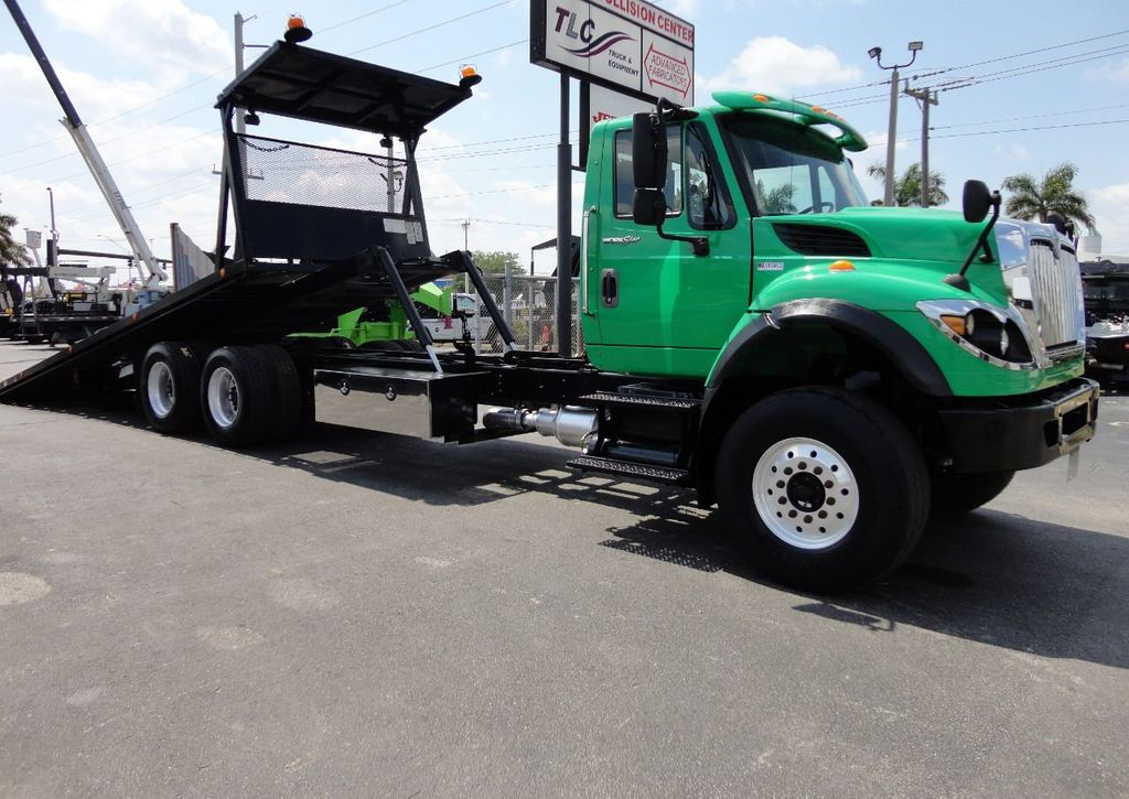 2013 International 7500 TANDEM AXLE.. JERR-DAN 28FT INDUSTRIAL 15 TON ROLLBACK - 17457781 - 4