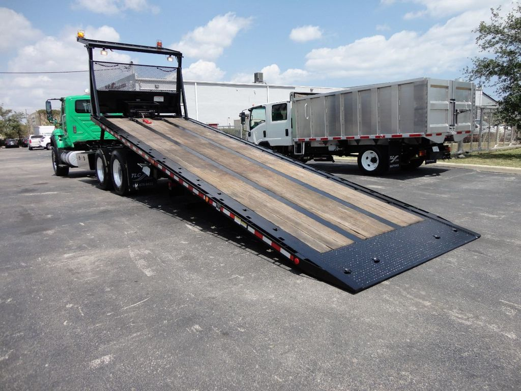 2013 International 7500 TANDEM AXLE.. JERR-DAN 28FT INDUSTRIAL 15 TON ROLLBACK - 17457781 - 7