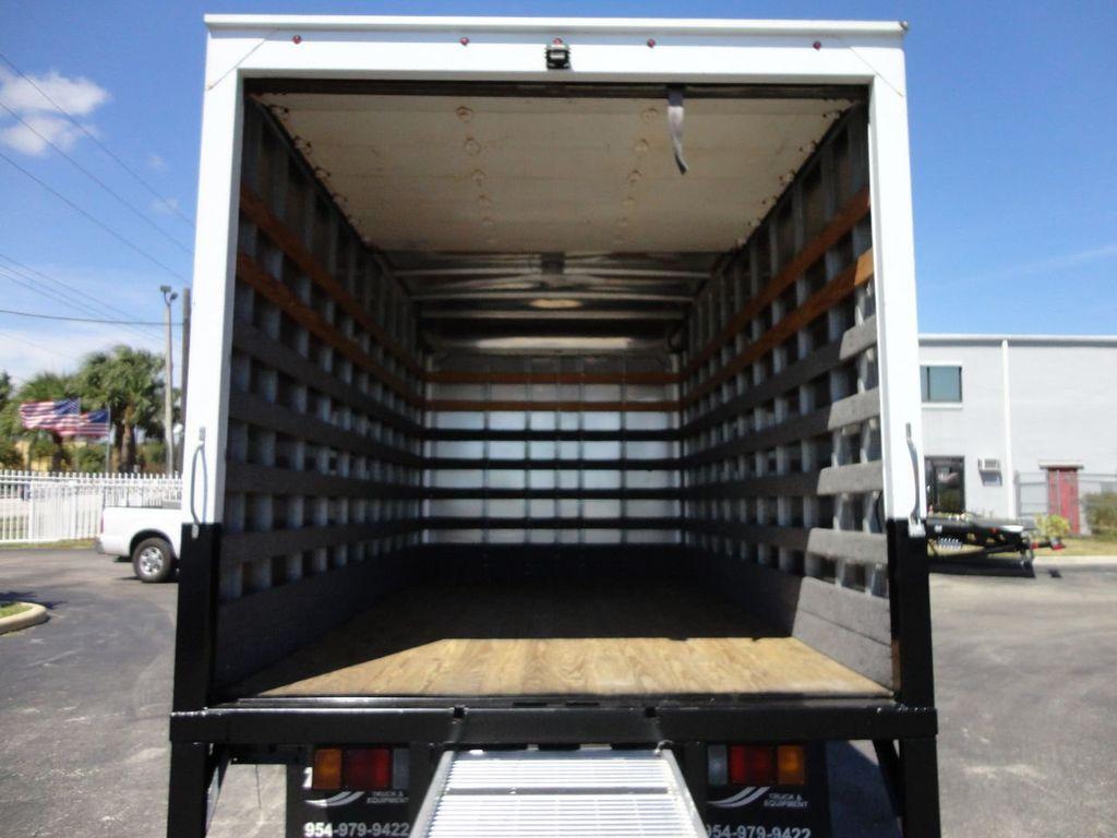2013 Isuzu NPR 14FT DRY BOX TRUCK . CARGO TRUCK WITH RAMP - 18156720 - 13