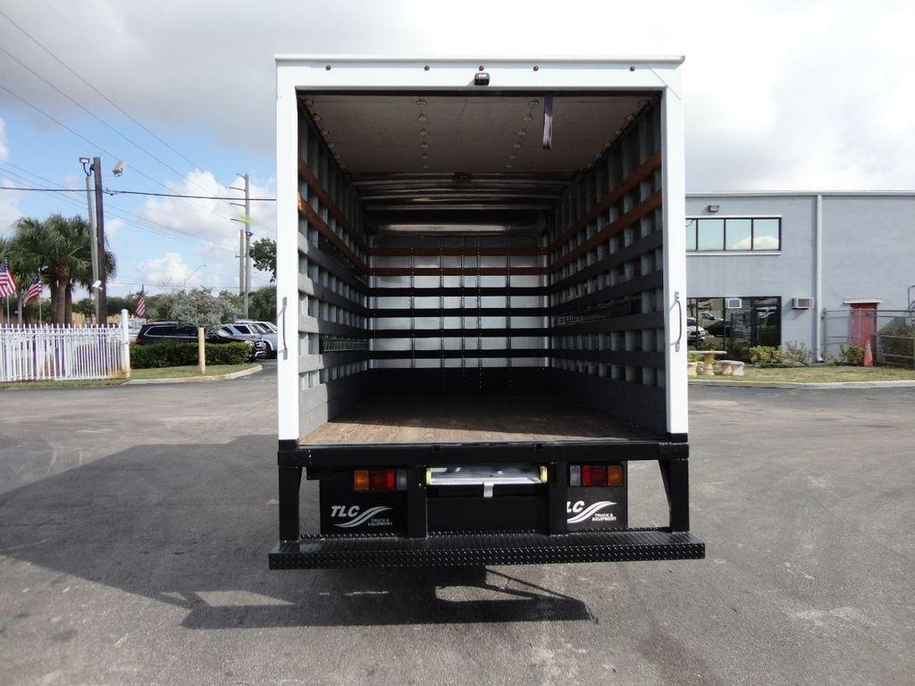 2013 Isuzu NPR 14FT DRY BOX TRUCK . CARGO TRUCK WITH RAMP - 18178081 - 6