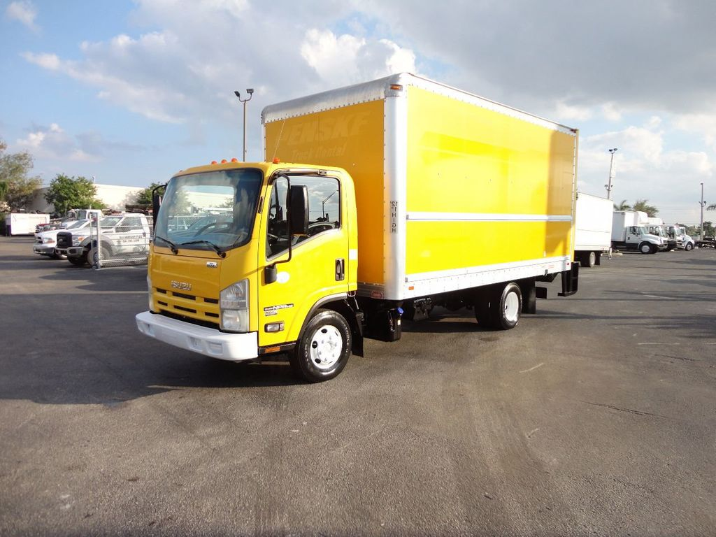 2013 Isuzu NPR HD 16FT DRY BOX..TUCK UNDER LIFTGATE BOX TRUCK - 17170473 - 0