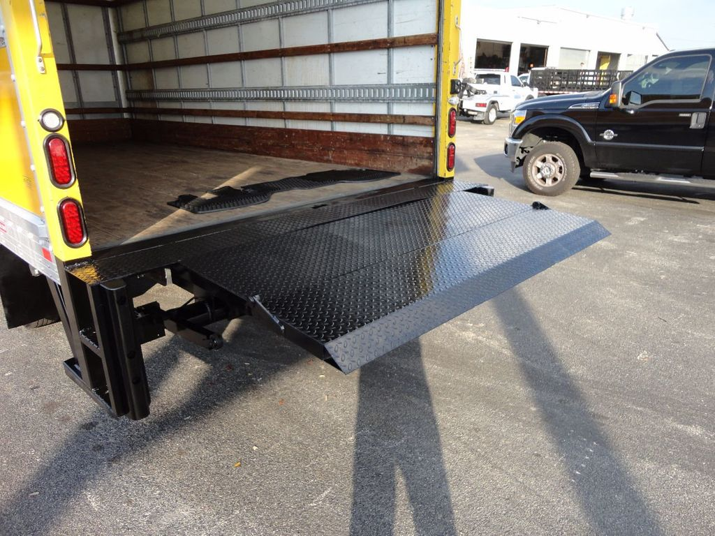 2013 Isuzu NPR HD 16FT DRY BOX..TUCK UNDER LIFTGATE BOX TRUCK - 17170473 - 24