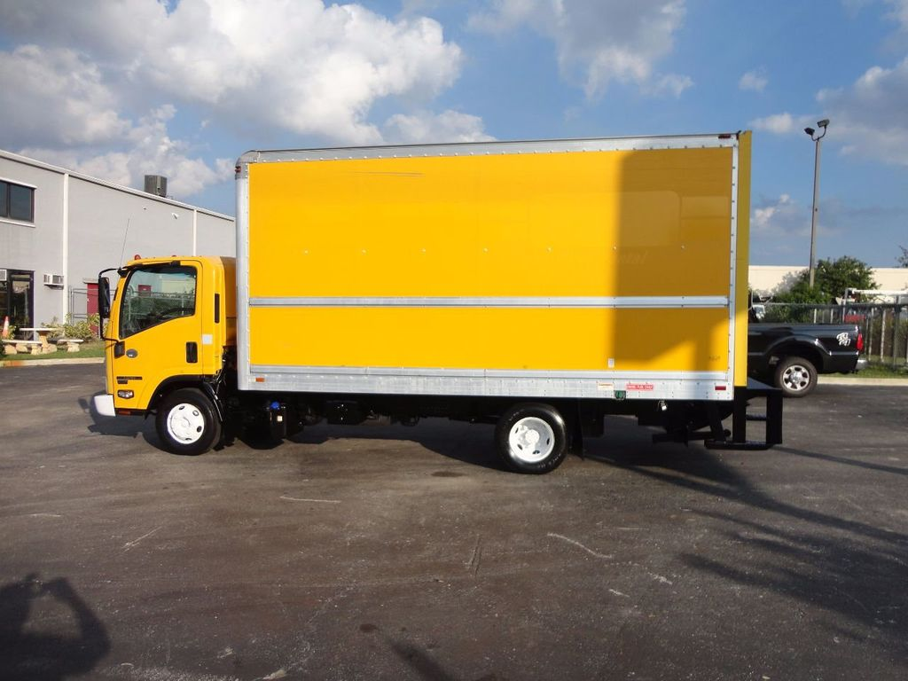 2013 Isuzu NPR HD 16FT DRY BOX..TUCK UNDER LIFTGATE BOX TRUCK - 17170473 - 2