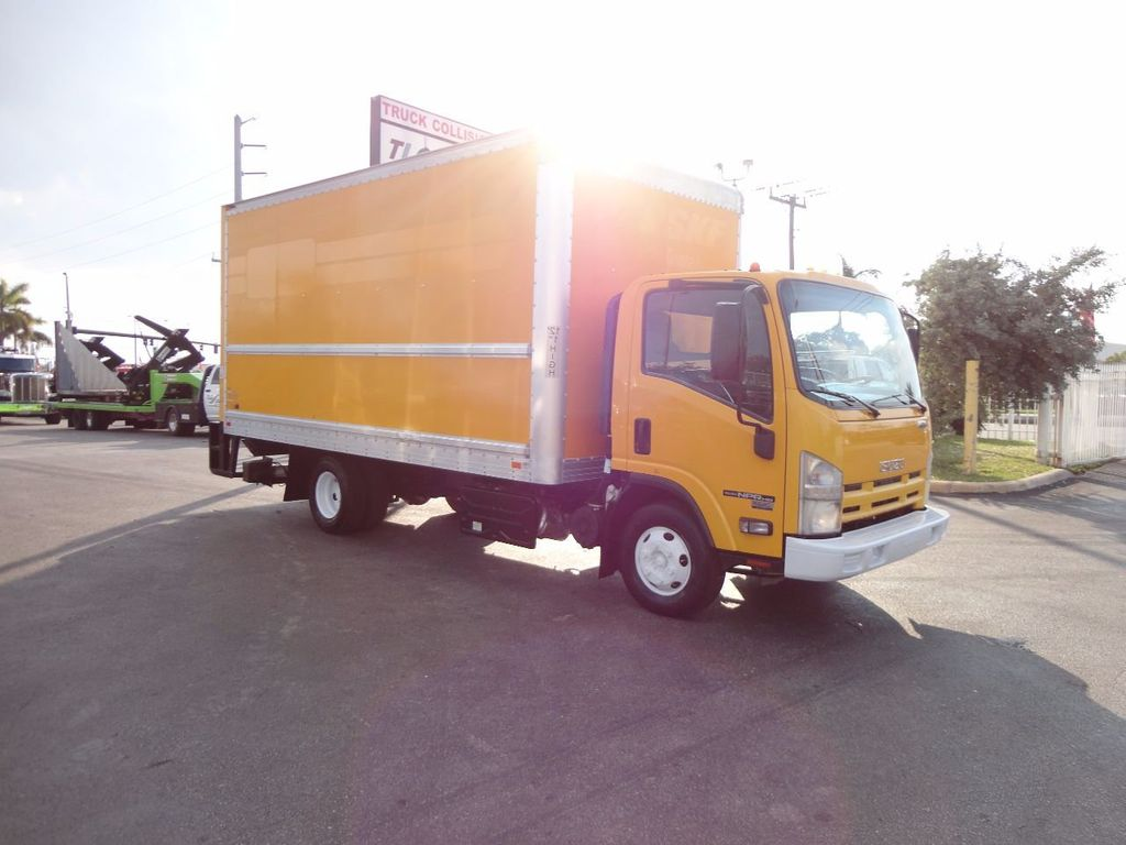 2013 Isuzu NPR HD 16FT DRY BOX..TUCK UNDER LIFTGATE BOX TRUCK - 17170473 - 7