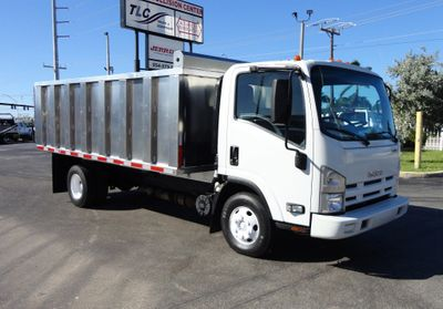 2013 Isuzu NPR HD *NEW*ADVANCED FABRICATORS 14FT ALUMINUM TRASH DUMP..