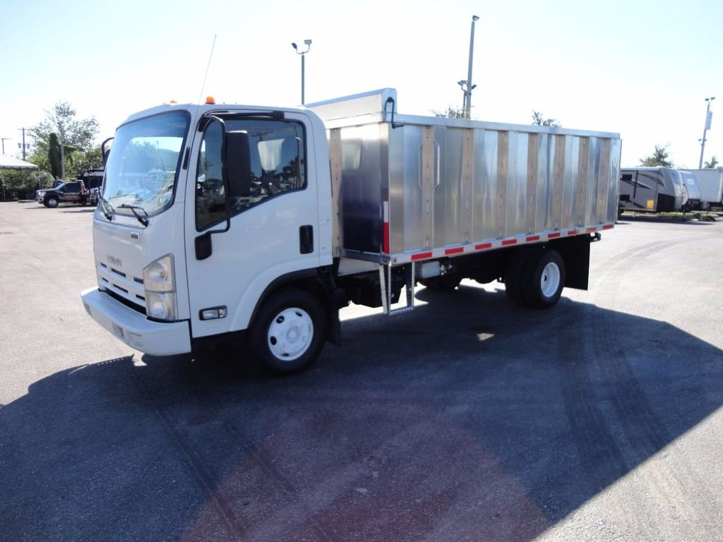 2013 Isuzu NPR HD *NEW*ADVANCED FABRICATORS 14FT ALUMINUM TRASH DUMP.. - 16976970 - 0