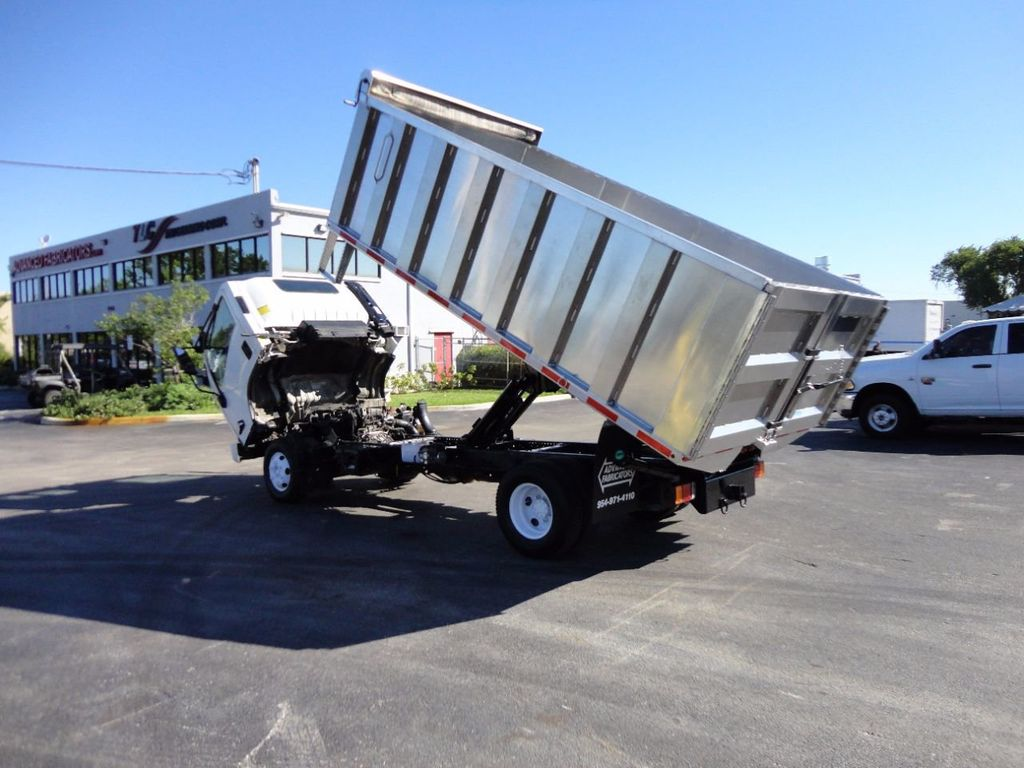 2013 Isuzu NPR HD *NEW*ADVANCED FABRICATORS 14FT ALUMINUM TRASH DUMP.. - 16976970 - 12