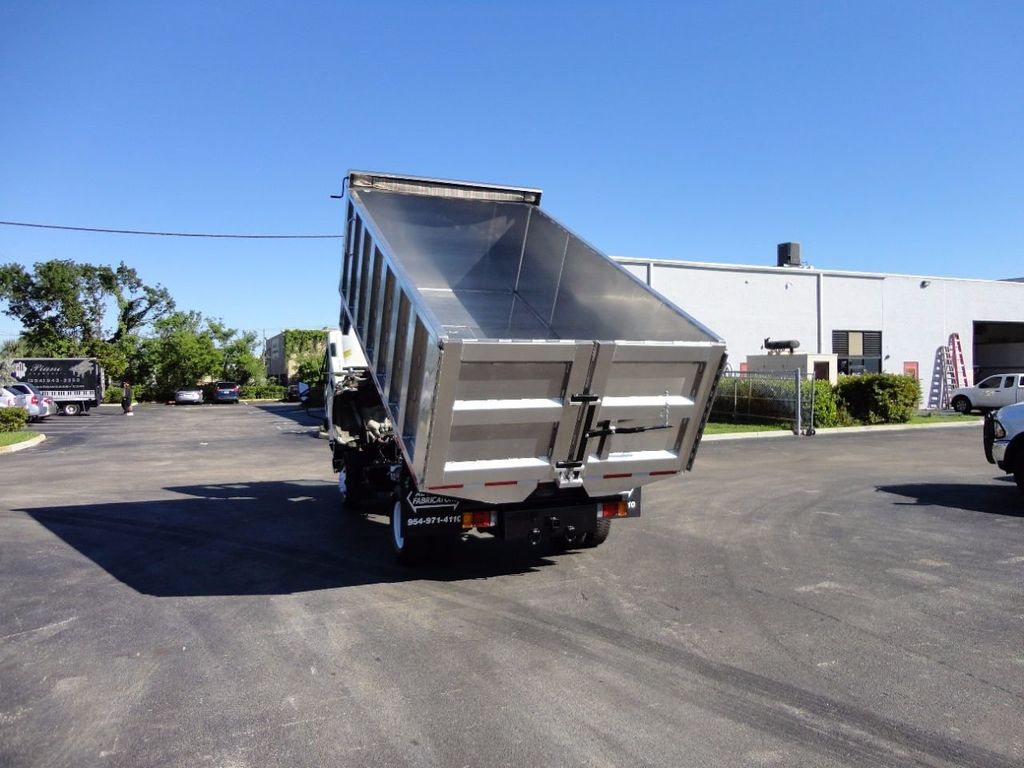 2013 Isuzu NPR HD *NEW*ADVANCED FABRICATORS 14FT ALUMINUM TRASH DUMP.. - 16976970 - 13