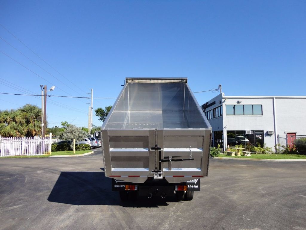 2013 Isuzu NPR HD *NEW*ADVANCED FABRICATORS 14FT ALUMINUM TRASH DUMP.. - 16976970 - 14
