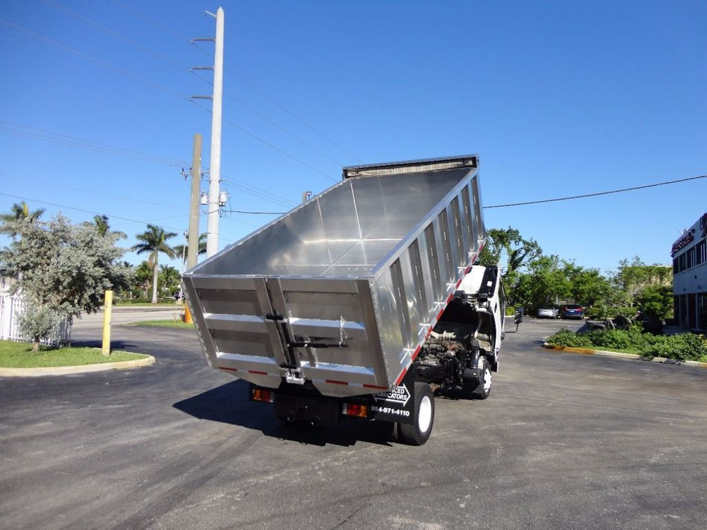 2013 Isuzu NPR HD *NEW*ADVANCED FABRICATORS 14FT ALUMINUM TRASH DUMP.. - 16976970 - 15