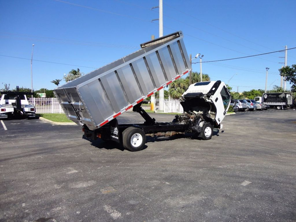 2013 Isuzu NPR HD *NEW*ADVANCED FABRICATORS 14FT ALUMINUM TRASH DUMP.. - 16976970 - 16