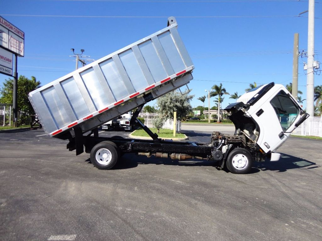 2013 Isuzu NPR HD *NEW*ADVANCED FABRICATORS 14FT ALUMINUM TRASH DUMP.. - 16976970 - 17