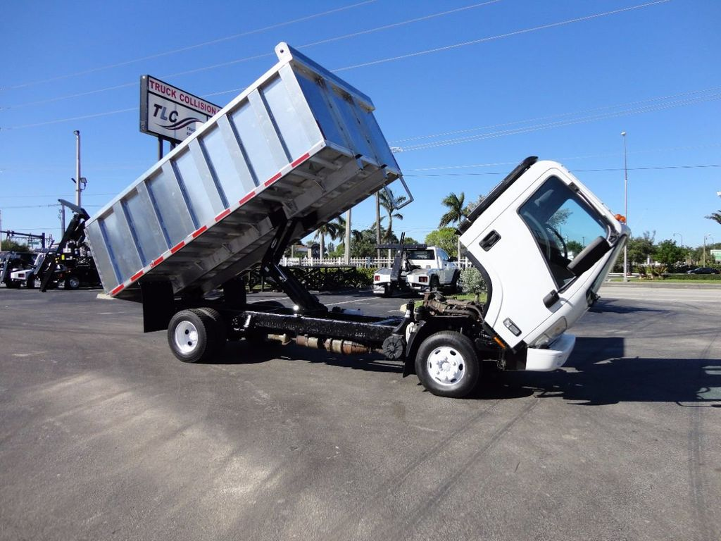 2013 Isuzu NPR HD *NEW*ADVANCED FABRICATORS 14FT ALUMINUM TRASH DUMP.. - 16976970 - 18