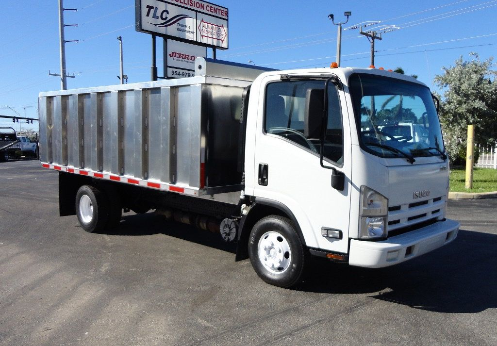 2013 Isuzu NPR HD *NEW*ADVANCED FABRICATORS 14FT ALUMINUM TRASH DUMP.. - 16976970 - 1