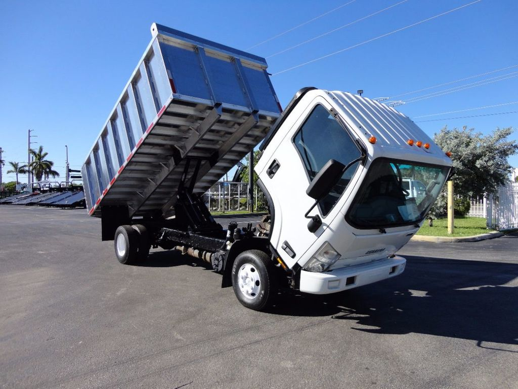 2013 Isuzu NPR HD *NEW*ADVANCED FABRICATORS 14FT ALUMINUM TRASH DUMP.. - 16976970 - 19