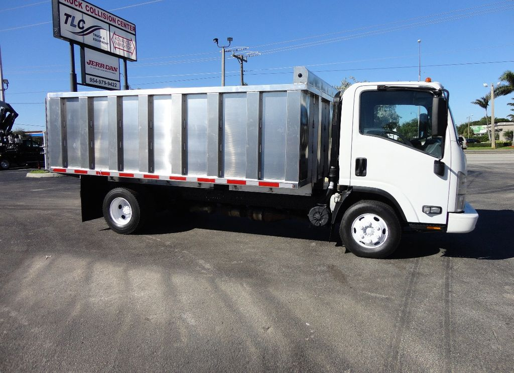 2013 Isuzu NPR HD *NEW*ADVANCED FABRICATORS 14FT ALUMINUM TRASH DUMP.. - 16976970 - 2