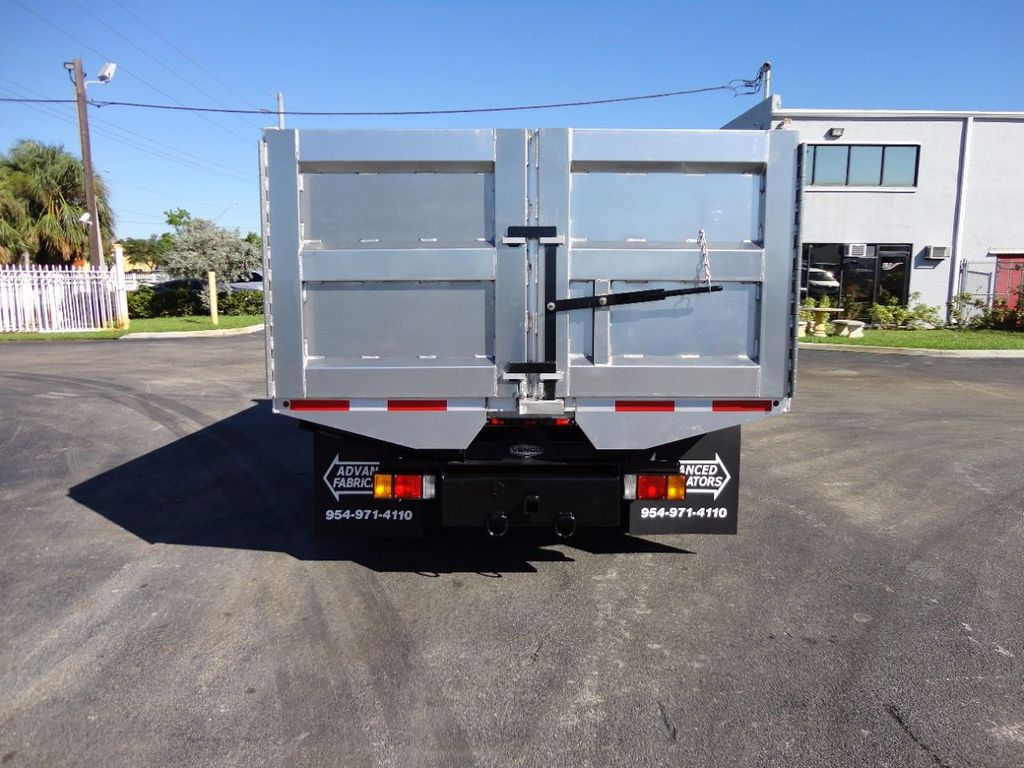 2013 Isuzu NPR HD *NEW*ADVANCED FABRICATORS 14FT ALUMINUM TRASH DUMP.. - 16976970 - 6