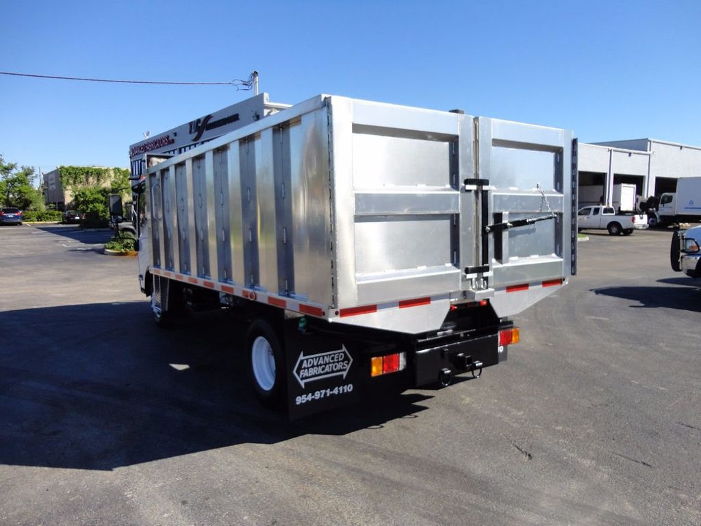2013 Isuzu NPR HD *NEW*ADVANCED FABRICATORS 14FT ALUMINUM TRASH DUMP.. - 16976970 - 7