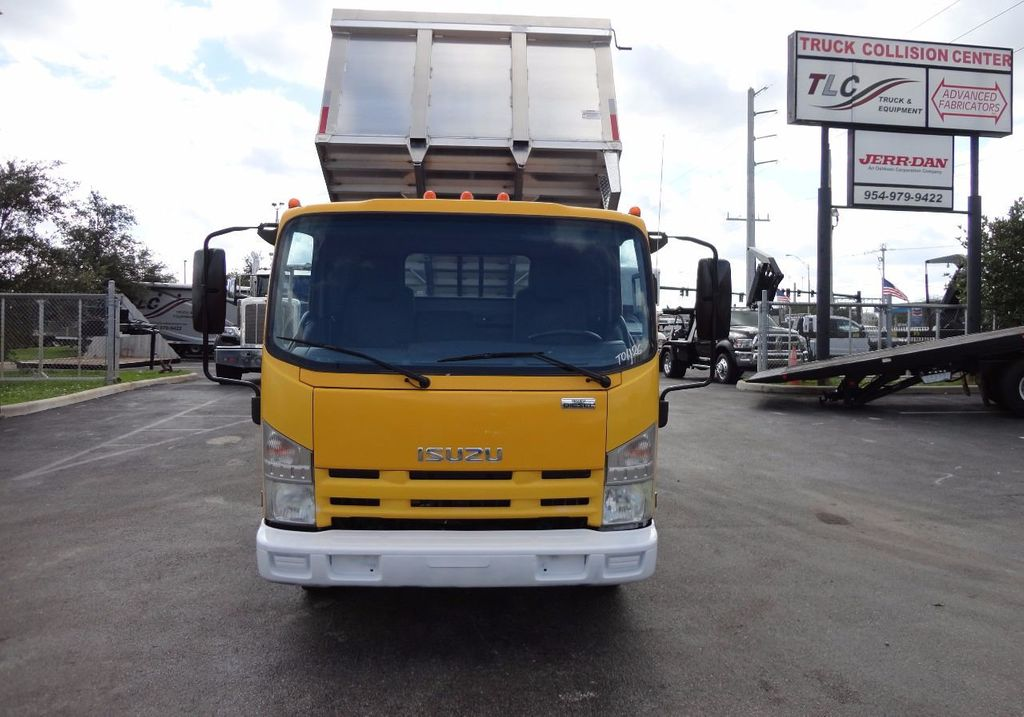 2013 Isuzu NPR HD *NEW*ADVANCED FABRICATORS 14FT ALUMINUM TRASH DUMP.. - 17081599 - 9