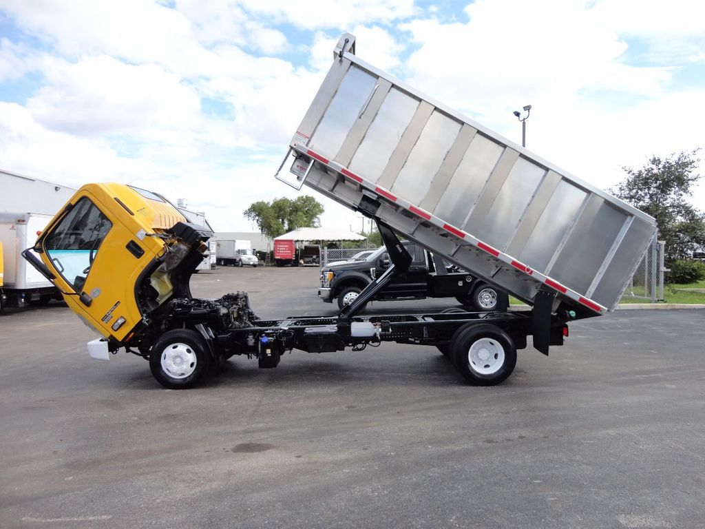 2013 Isuzu NPR HD *NEW*ADVANCED FABRICATORS 14FT ALUMINUM TRASH DUMP.. - 17081599 - 10