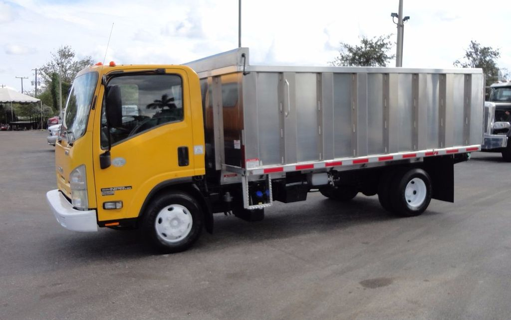 2013 Isuzu NPR HD *NEW*ADVANCED FABRICATORS 14FT ALUMINUM TRASH DUMP.. - 17081599 - 21