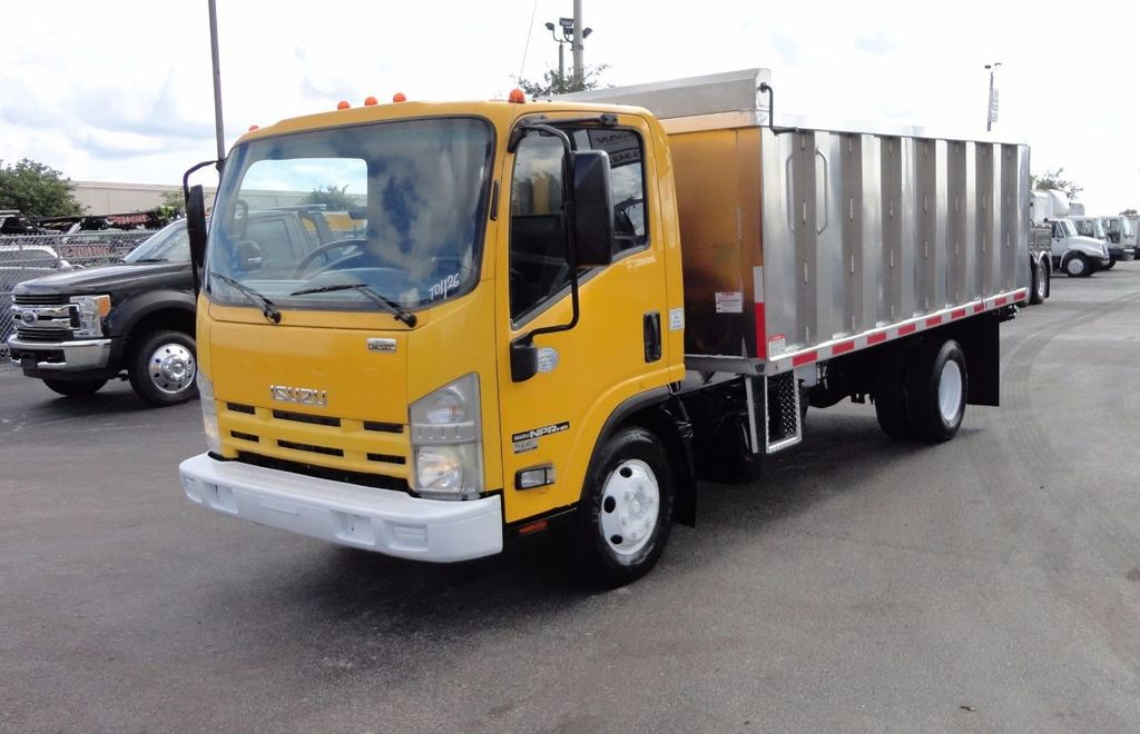 2013 Isuzu NPR HD *NEW*ADVANCED FABRICATORS 14FT ALUMINUM TRASH DUMP.. - 17081599 - 22