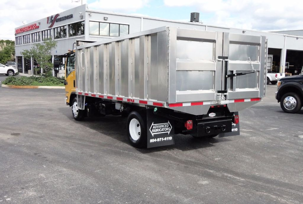 2013 Isuzu NPR HD *NEW*ADVANCED FABRICATORS 14FT ALUMINUM TRASH DUMP.. - 17081599 - 23