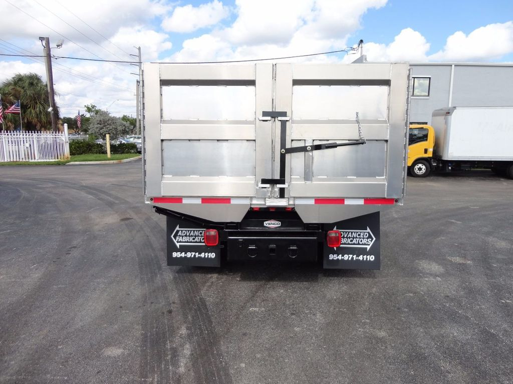 2013 Isuzu NPR HD *NEW*ADVANCED FABRICATORS 14FT ALUMINUM TRASH DUMP.. - 17081599 - 24