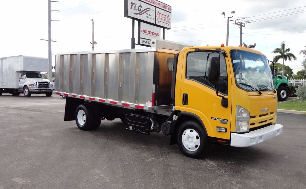 2013 Isuzu NPR HD *NEW*ADVANCED FABRICATORS 14FT ALUMINUM TRASH DUMP.. - 17081599 - 27