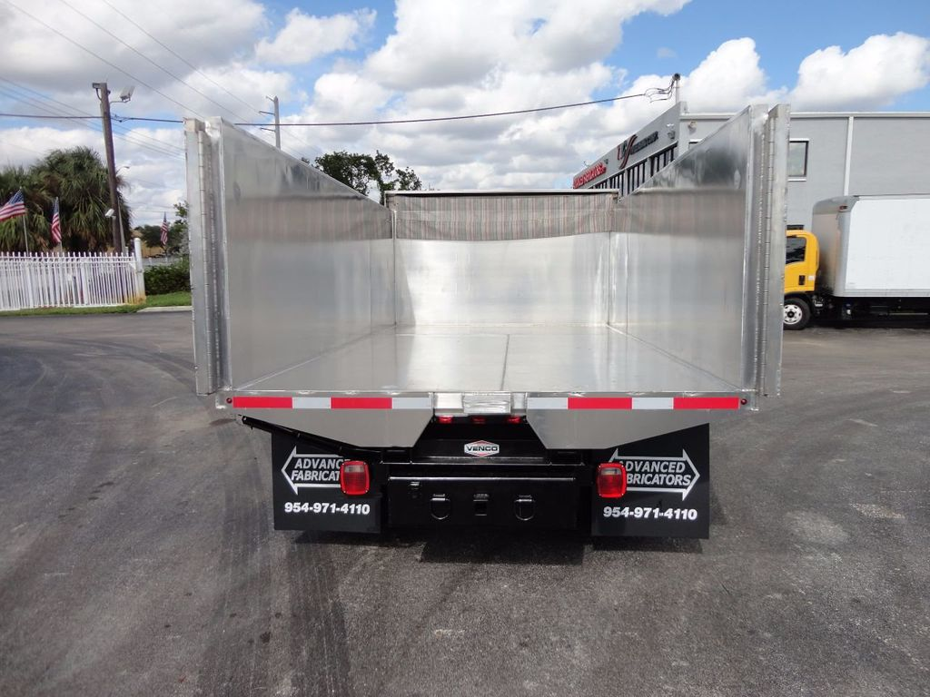 2013 Isuzu NPR HD *NEW*ADVANCED FABRICATORS 14FT ALUMINUM TRASH DUMP.. - 17081599 - 28