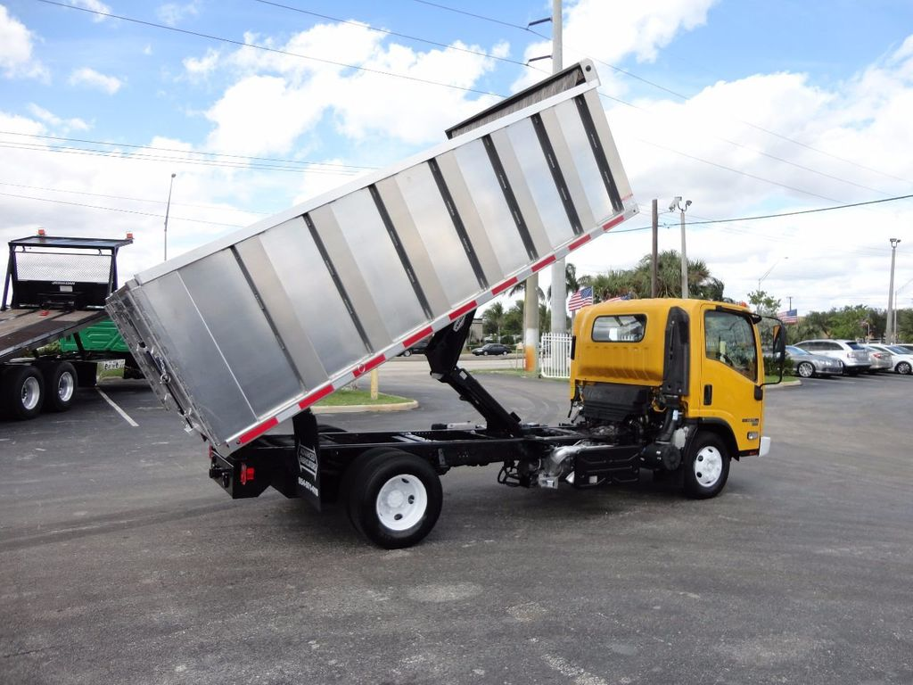 2013 Isuzu NPR HD *NEW*ADVANCED FABRICATORS 14FT ALUMINUM TRASH DUMP.. - 17081599 - 3