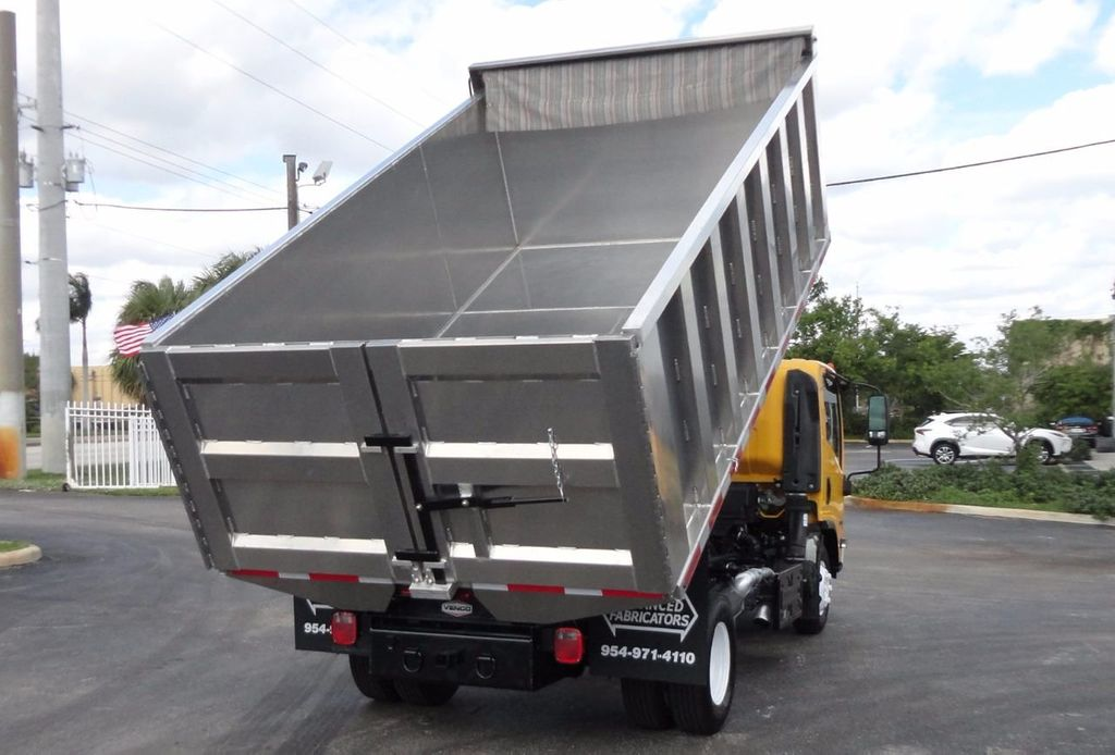 2013 Isuzu NPR HD *NEW*ADVANCED FABRICATORS 14FT ALUMINUM TRASH DUMP.. - 17081599 - 4