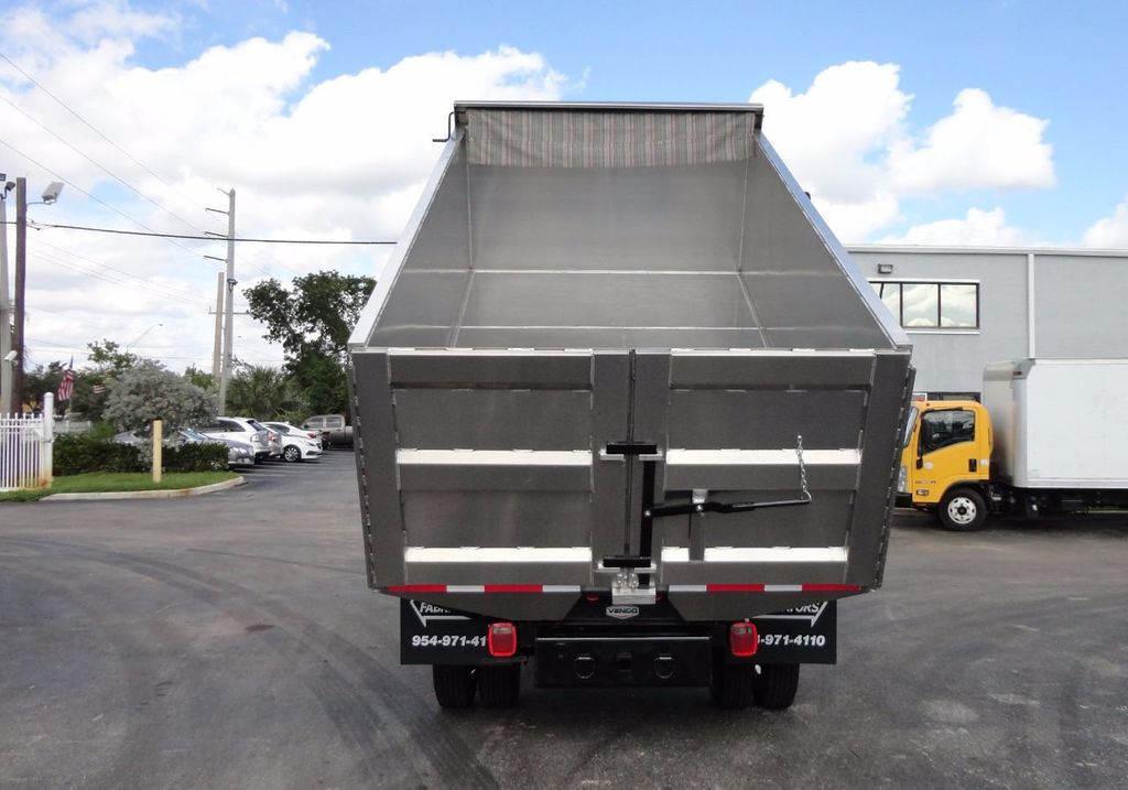 2013 Isuzu NPR HD *NEW*ADVANCED FABRICATORS 14FT ALUMINUM TRASH DUMP.. - 17081599 - 5