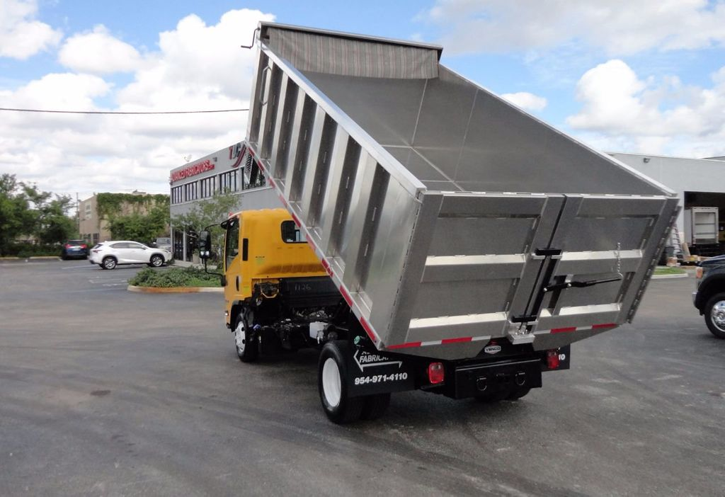 2013 Isuzu NPR HD *NEW*ADVANCED FABRICATORS 14FT ALUMINUM TRASH DUMP.. - 17081599 - 6