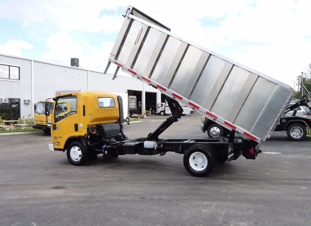 2013 Isuzu NPR HD *NEW*ADVANCED FABRICATORS 14FT ALUMINUM TRASH DUMP.. - 17081599 - 7