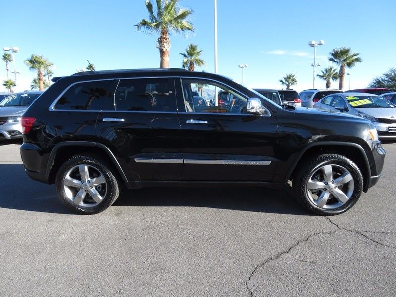 2013 used jeep grand cherokee overland at king of cars towbin dodge nv iid 17128980. Black Bedroom Furniture Sets. Home Design Ideas
